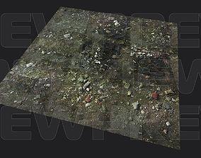 3D asset Abandoned Groundplane PBR Tiled
