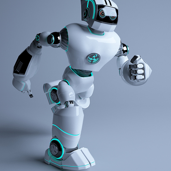 Space robot 2