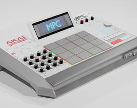 MPC Drum Maschine 3D model