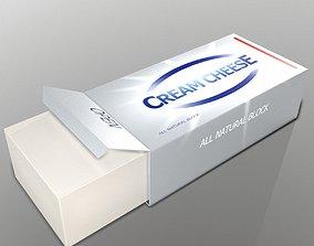 3D asset Cream Cheese