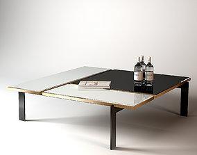 Blade Cocktail Table Thomas Pheasant - 8752 3D model