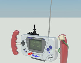 3D print model Super Gear boy game consoles and Walkie 2