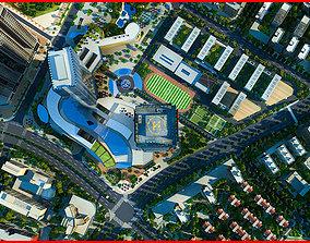 3D Modern City Animated 105