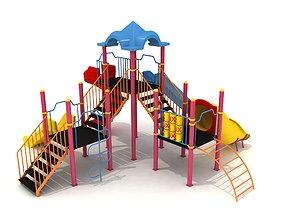 3D model Metal Play Park 20