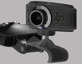web cam 3D model electronics