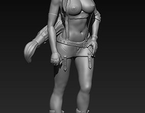 Fan art Tifa SFW and NSFW 3D print model