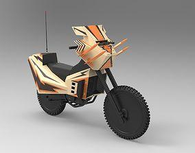 3D model Megaforce bike