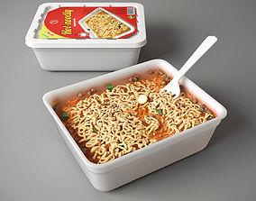 Instant noodle 3D