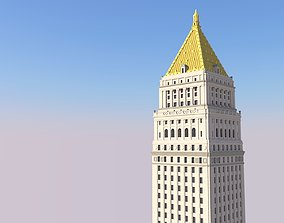 3D printable model Thurgood Marshall Courthouse