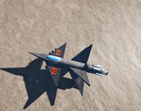 3D Vampire Faction Razor Bombing Plane Static Cubes