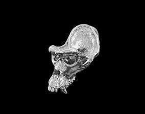 Gorilla skull pendant 3D printable model
