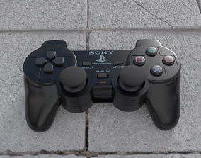 3D PS2 Controller - Joystick
