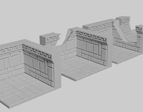 Dwarven Fort Wall Floor Tile 3D print model