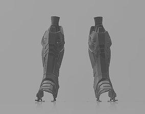 Batman Arkham Knight Shin armor 3D printable model