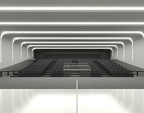 Caglilari Archviz -Convention Hall 3D asset