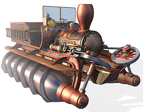 3D model Screw propelled vehicle