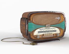 3D asset Tabletop radio Oceanic Surcouf