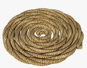 3D asset Folded Rope
