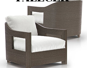 Tracy Lounge Chair 3D