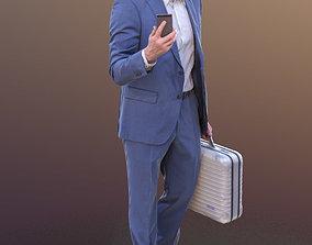 Andrew 10325 - Walking Business Man 3D model