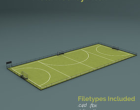 3D model Field Hockey Training Pitch