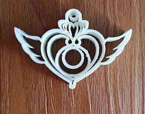 Sailormoon Heart cookie cutter 3D print model