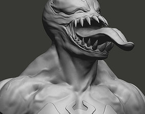 Venom Bust games-toys 3D print model