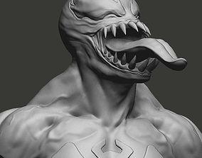 Venom Bust games-toys 3D print model