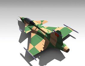 3D model Saab Gripen