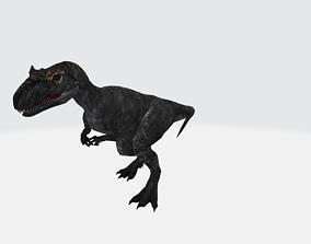 3D model Allosaurus with Animation