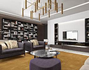 LIVING ROOM 3D living luxury