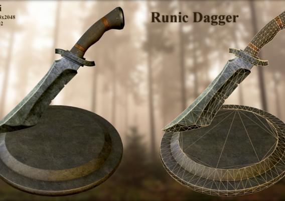 Runic Dagger