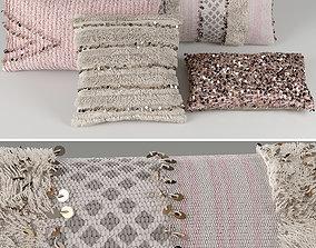 3D model RH Morrocan Pillows