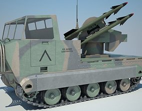 M48 Chapparal 3D model