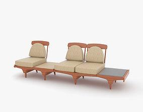 Bench furniture 3D