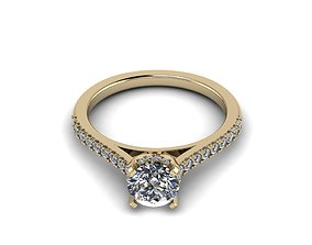 fashion-and-beauty Jewelry diamond ring 3D print model