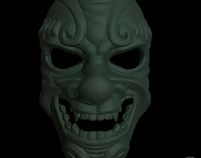 japanese stylized mask 3d printable