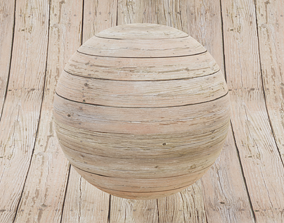 3D 4K Seamless Weathered Wood Deck