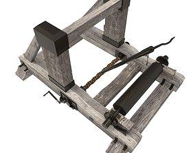 Roman Onager 3D asset