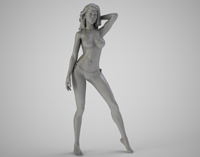 Beach Beauty 3D printable model