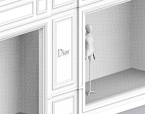 3D Dior Storefront Boutique Avenue Montaigne Paris