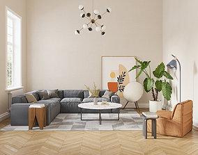 3D living Livingroom