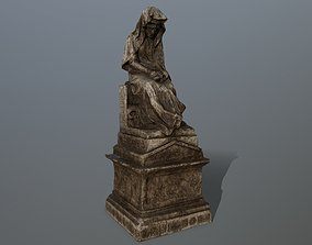 3D asset statue 1