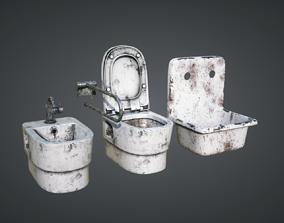 3D Toilet Abandoned