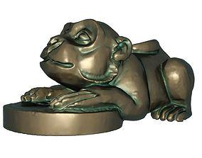 3D print model Fortune monkey