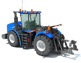 3D model Tractor New Holland