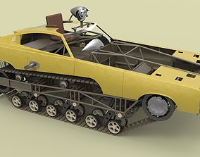 3D model Peacemaker from movie Mad Max Fury road