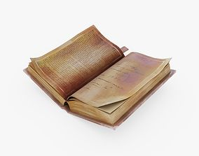 Stylized Book Closed 3D model