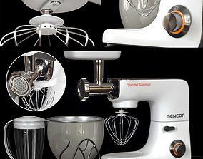 3D Sencor Stand Mixer - White