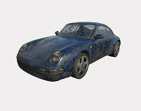 3D Abandoned Car 68